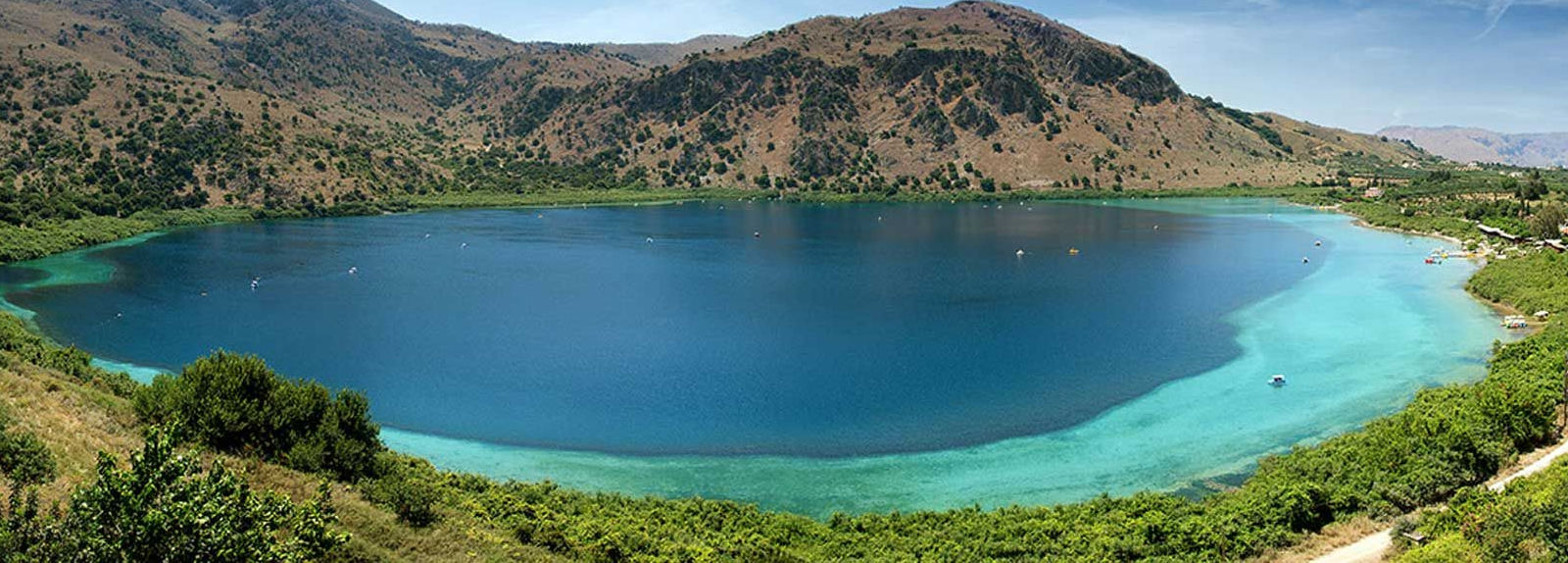 Lake Kournas, Argiroupolis & Ancient Lappa